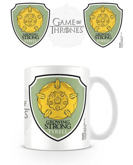 Mug Blanc Céramique Tyrell Game of Thrones