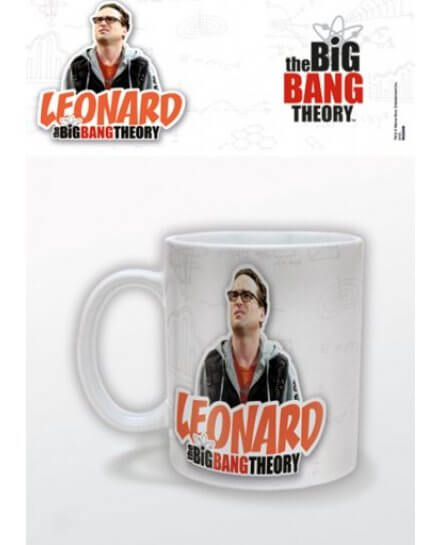 Mug Blanc Leonard The Big Bang Theory