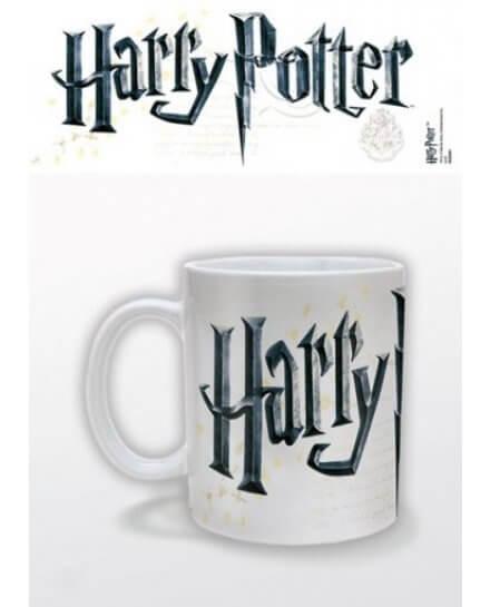 Mug Blanc Logo Harry Potter