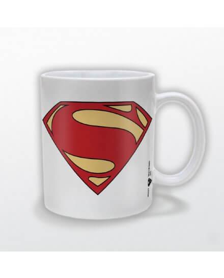 Mug Blanc Logo Man of Steel Superman