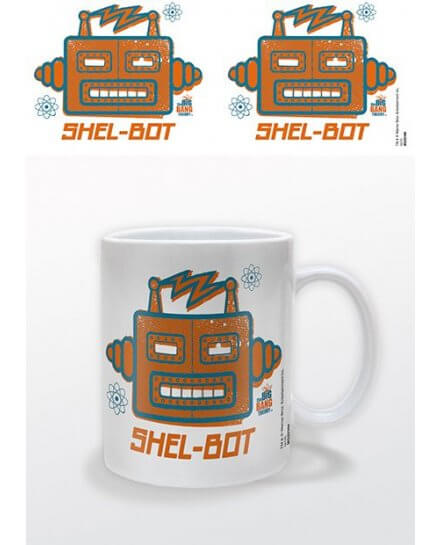 Mug Blanc Shel Bot The Big Bang Theory