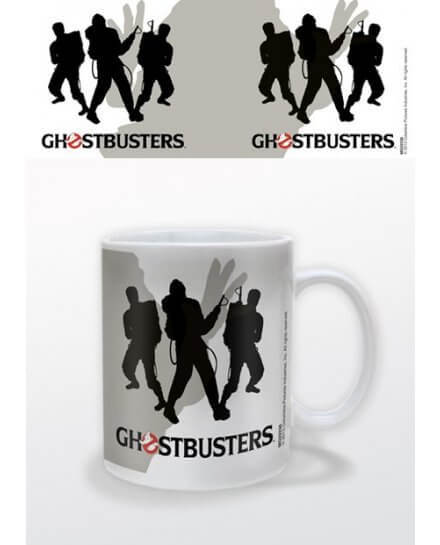 Mug Blanc Silhouettes Ghostbusters