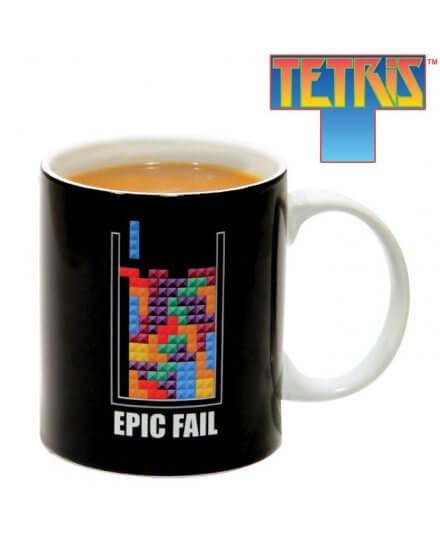 Mug Céramique Noir Epic Fall Tetris