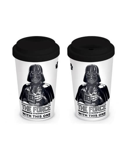 Mug de Voyage Dark Vador The Force is strong Star Wars