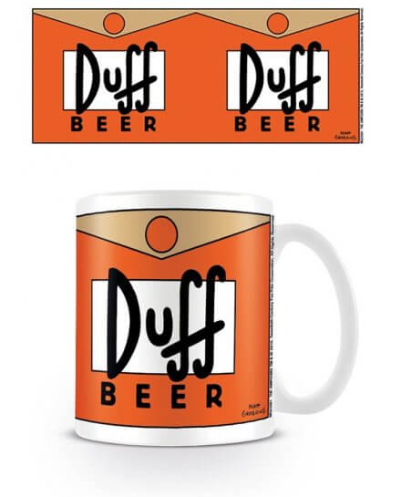 Mug Duff Beer Simpsons