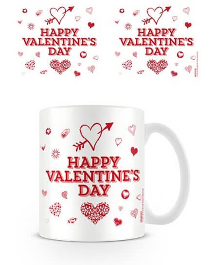 Mug Happy Valentine's Day Saint Valentin