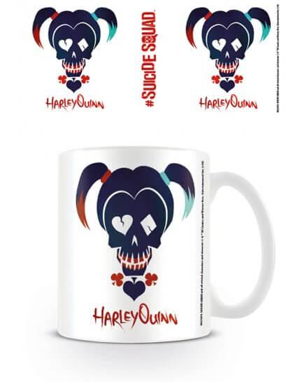 Mug Harley Quinn Skull Suicide Squad