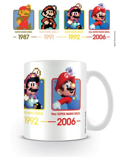 Mug Historique Super Mario Nintendo