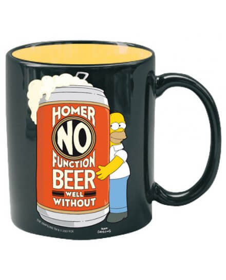 Mug Homer No Function Simpsons