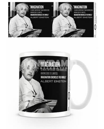 Mug Imagination Einstein