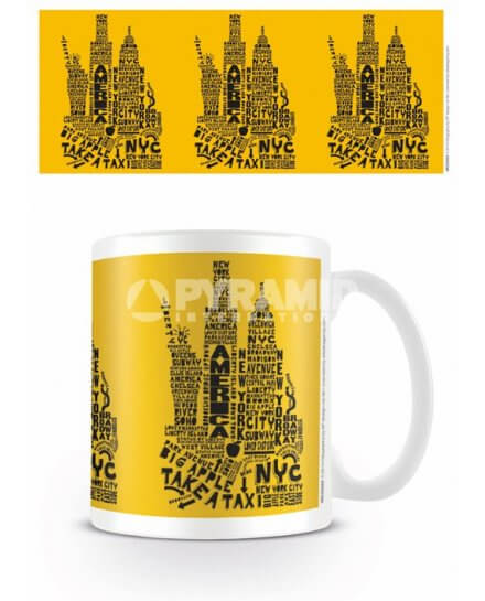 Mug Jaune Citography New York