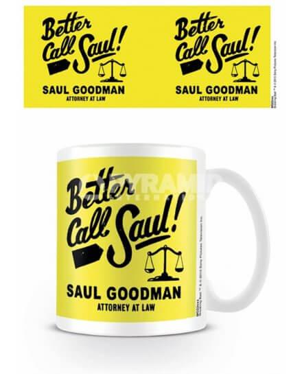 Mug Jaune Logo Better Call Saul