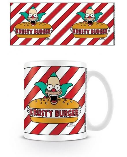 Mug Krusty Burger Simpsons