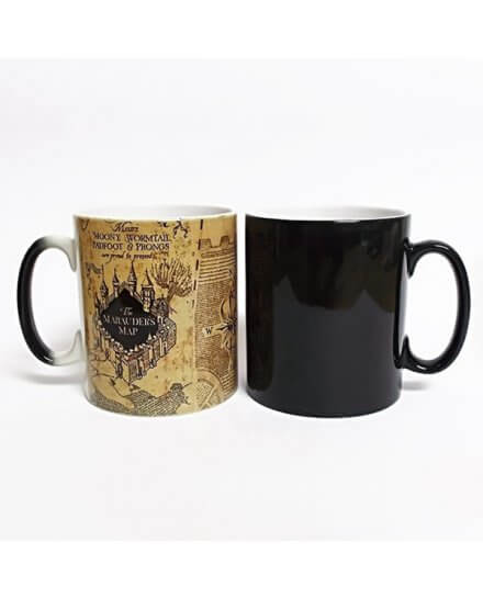 Mug Magique Carte du Maraudeur Harry Potter