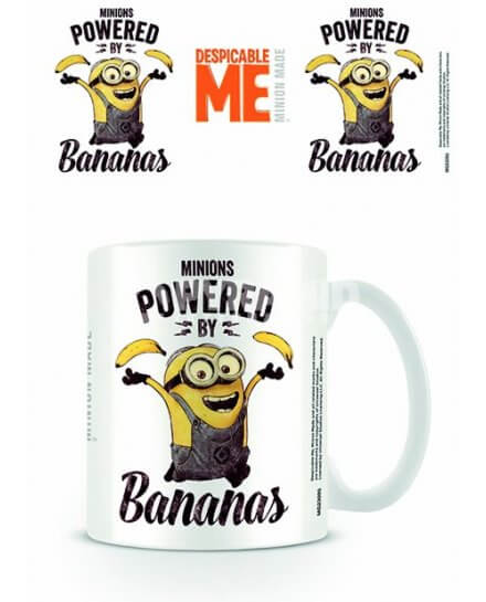Mug Powered Bananas Minion Moi Moche et Méchant