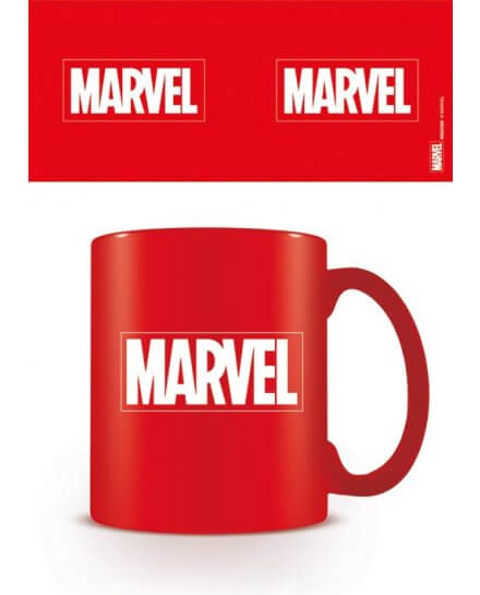 Mug Rouge Logo Marvel