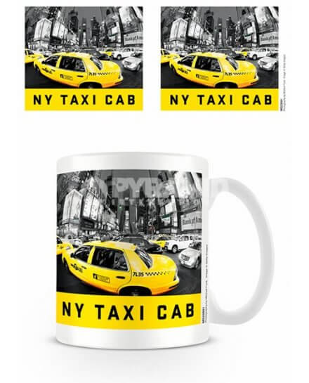 Mug Taxi Cab New York