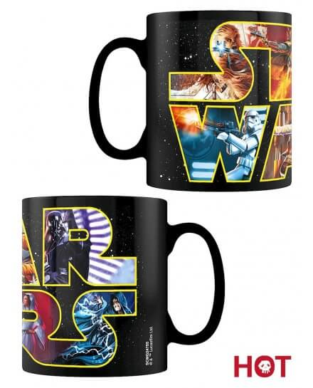 Mug thermoréactif Logo personnages Star Wars