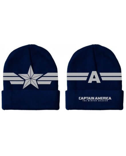 Bonnet Bleu Star Wings Captain America