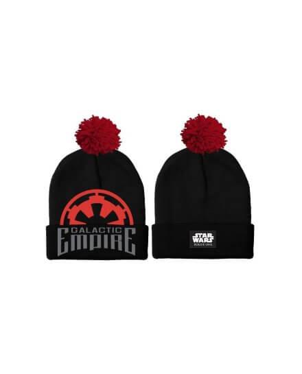 Bonnet Galactic Empire Pompom Star Wars