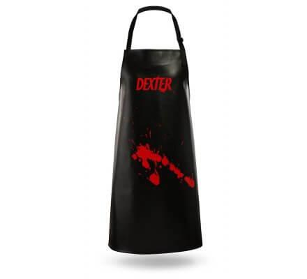 Tablier Noir Vinyle Dexter