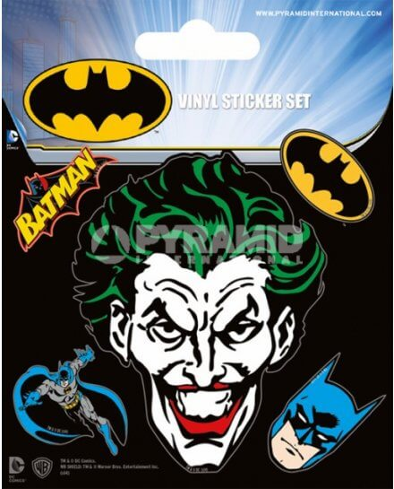 Pack de 5 Stickers Batman