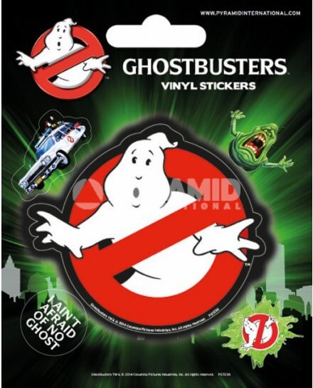 Pack de 5 Stickers Ghostbusters