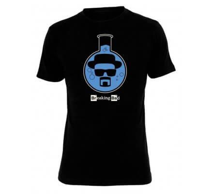Tee-Shirt Noir Ballon Bleu Breaking Bad