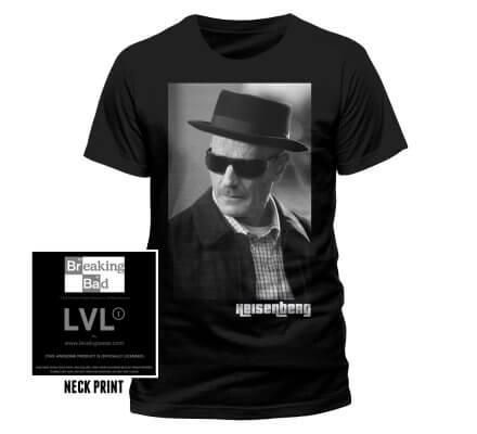 Tee-Shirt Noir Heisenberg Photo Breaking Bad