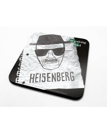 Sous-Verre Heisenberg Paper Breaking Bad