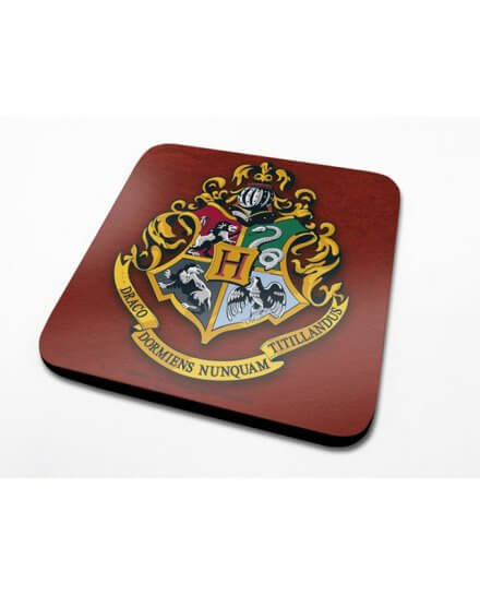 Sous-Verre Poudlard 10 x 10cm Harry Potter