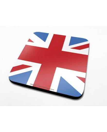 Sous-Verre Union Jack 10 x 10cm Londres
