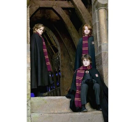 Echarpe Gryffondor Officielle Harry Potter
