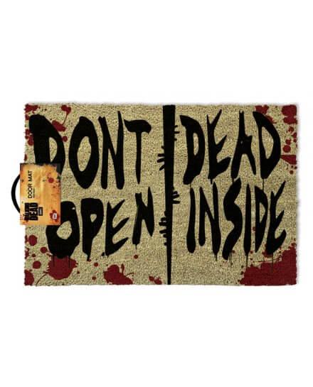 Tapis, Paillasson Don't Open Dead Inside The Walking Dead