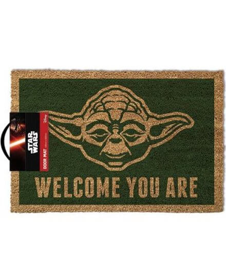 Tapis, Paillasson Yoda Welcome You Are 40x60 Star Wars