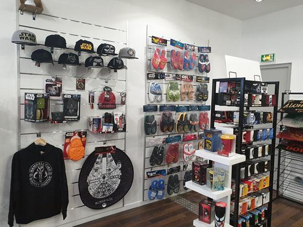 Une boutique geek à Calais