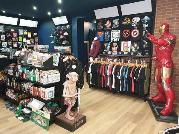 Pause Canap, la boutique Harry Potter à Calais