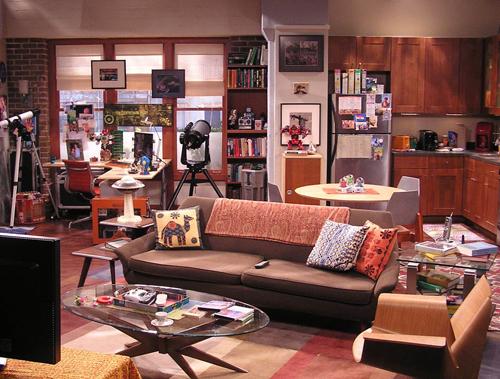 Décoration geek dans l'appartement de Sheldon