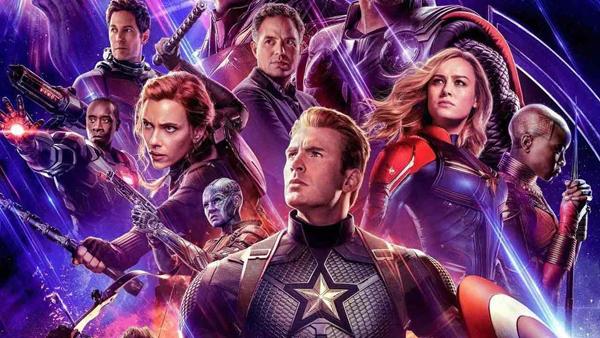 L'équipe des Avengers Endgame