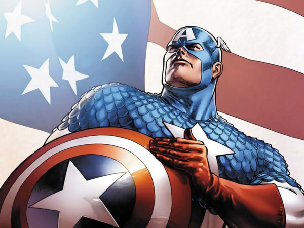 Captain America, super-soldat de l'Amérique