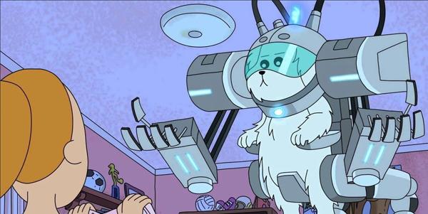 Snuffles, le chien dans Rick et Morty