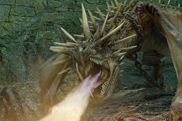 Dragon dans Harry Potter