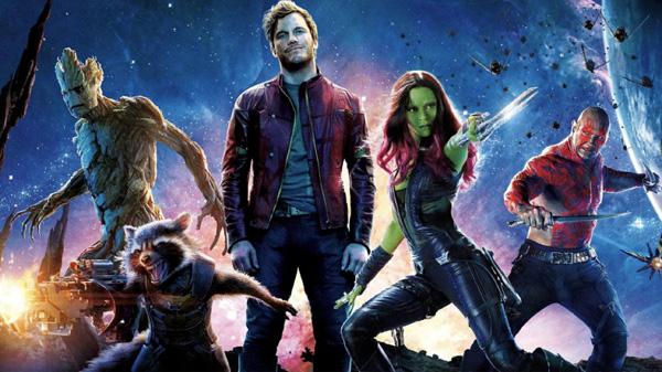 L'équipe des Gardiens de la Galaxie