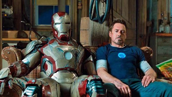 Robert Downey Jr et Iron Man