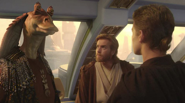 Jar Jar Binks dans Star Wars
