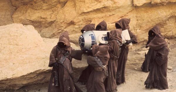 Les Jawas dans Star Wars