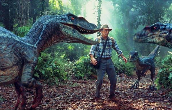 Dinosaure animatronique dans Jurassic Park