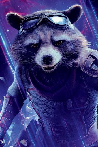 Rocket Raccoon des Gardiens de la Galaxie