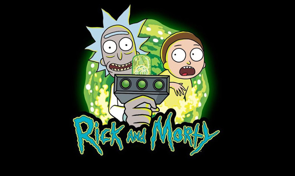 Dessin animé Rick et Morty