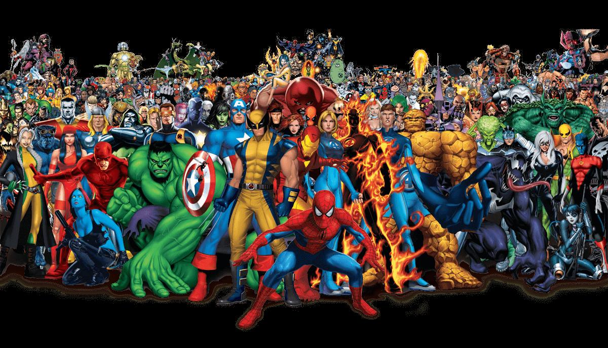 Marvel et ses super-héros